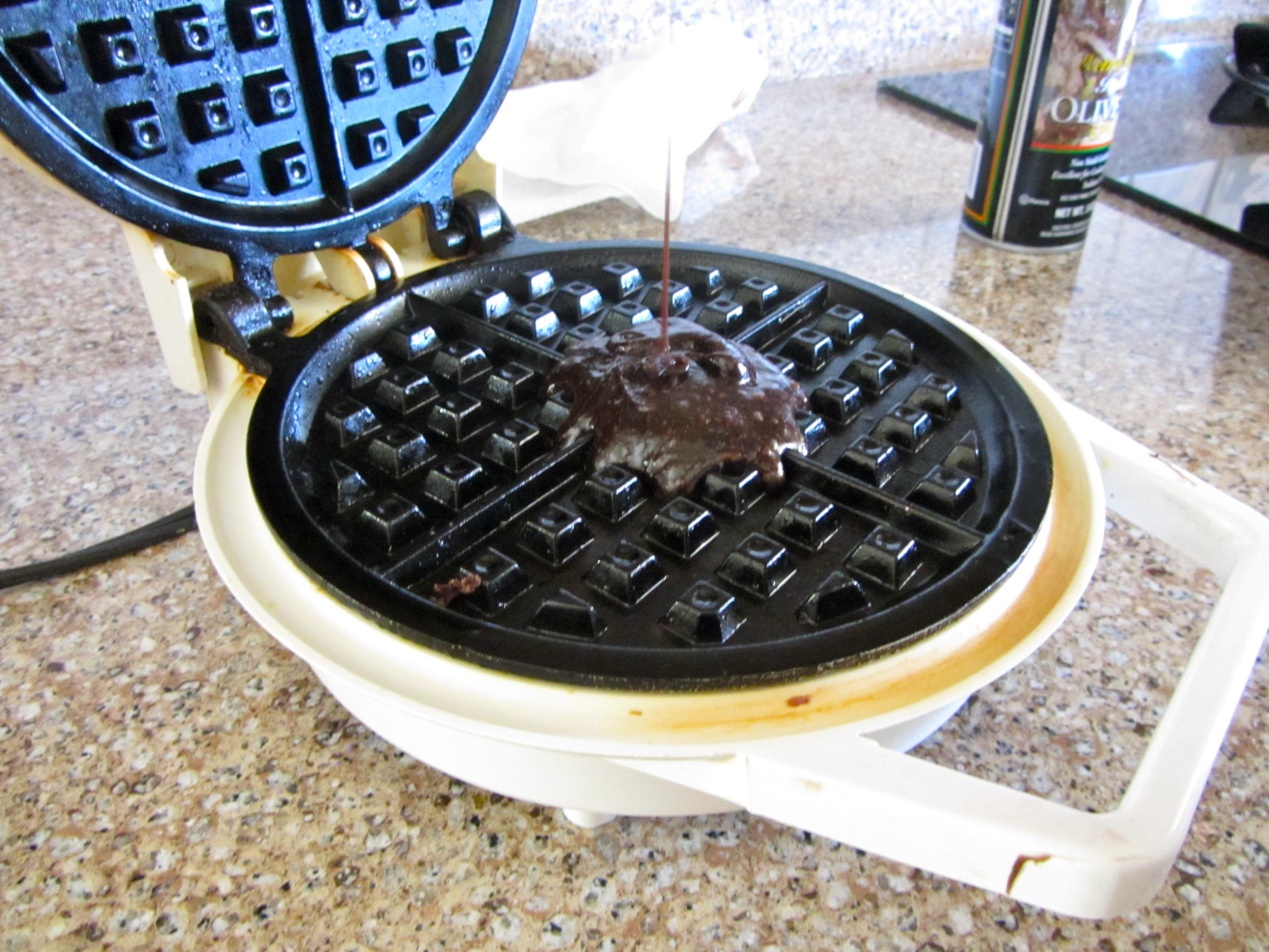 gently take out the waffle… try not to overcook because the waffles ...